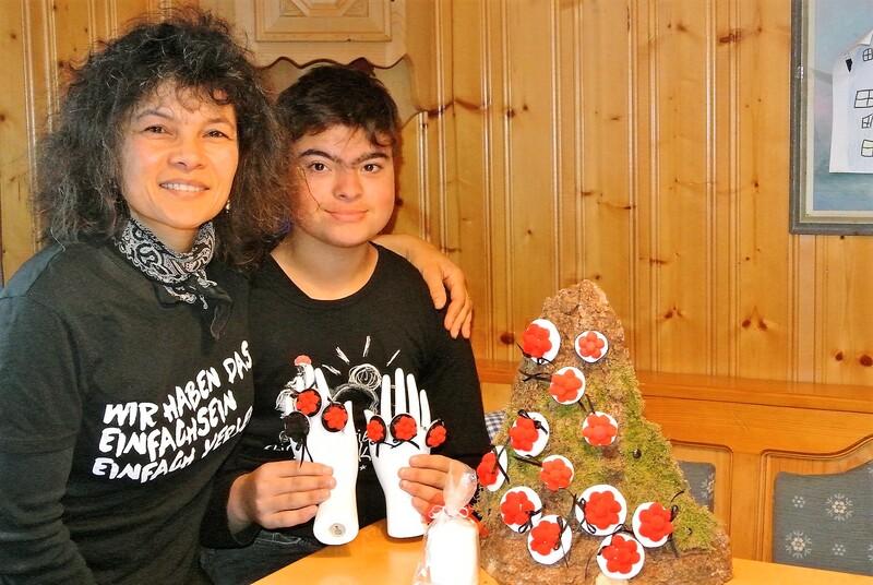 Natalia mit Sohn Marc-Evan